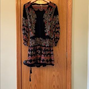 Free People top w/ ruched waist